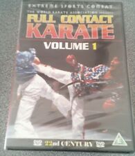 FULL CONTACT KARATE VOLUME 1*DVD*EXTREME SPORTS COMBAT*NEW AND SEALED