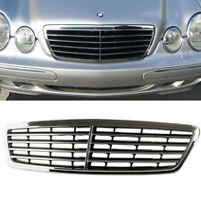 Chrome/Gloss Black Front Grille Grill for Mercedes Benz W203 C-Class C32 C280