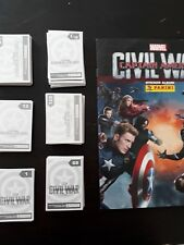 panini captain america civil war 10 images au choix