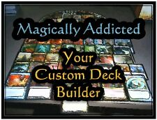 MTG Magic FIVE DECK LOT Green Red Blue Black White Great Custom Gift Idea CCG