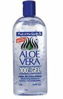 1 Bottle Fruit Of The Earth Aloe Vera 100% Gel 12 oz FREE FAST SHIPPING