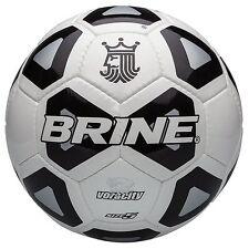 NEW Brine Voracity Soccer Ball Black Size 5 FREE SHIPPING