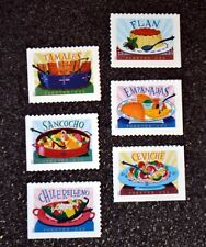 2017USA #5192-5197 Forever Delicioso - Set of 6 Singles From Booklet  Mint