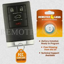 Keyless Entry Remote for 2008 2009 2010 2011 2012 2013 Cadillac Cts Car Key Fob