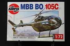 XL067 AIRFIX 1/72 maquette helicoptere 01068 MBB BO 105C 1988 NB