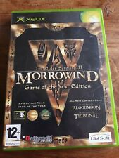 THE ELDER SCROLLS III: MORROWIND GAME OF THE YEAR EDITION [XBOX]