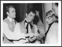 ~ War and Peace Original 1955 On Set Press Photo Rosemary Clooney Jose Ferrer