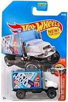 2017 Hot Wheels  Baja Hauler  #179/365  [White & Blue]  HW Hot Trucks  Diecast