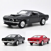 1969 Ford Mustang Boss 429 1:24 Model Car Diecast Toy Gift Kids Collection