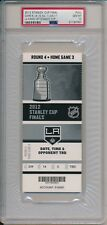 2012 L.A. Kings Stanley Cup Final Champions Game 6 Full Ticket 6/11/12 PSA 10