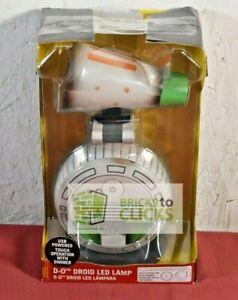 "Disney Star Wars D-0 Droid LED Desk Lamp  13"""