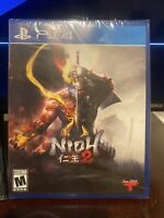 BRAND NEW & FACTORY SEALED - Nioh 2 (Sony PlayStation 4 / PS4)