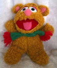 "Vintage Muppet Baby Fozzie Bear 1987 Stuffed Animal Plush 8"""
