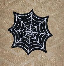 SPIDERMAN RAGNATELA Nero E Bianco Ferro/Da cucire Patch Ricamato/Distintivo/Logo