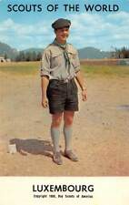 Scouts of the World: Luxembourg (1968 Boys Scouts of America) Uniform