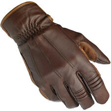 Biltwell Work Leather Motorcycle Gloves - Brown