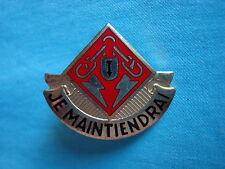 """US 169th MAINTENANCE BATTALION """" JE MAINTIENDRAI """" UNIT CREST"""