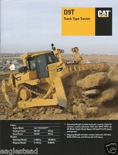 Equipment Brochure - Caterpillar - D9T - Track Type Tractor Dozer - 2007 (EB800)