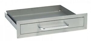 BULL OUTDOOR PRODUCTS STAINLESS STEEL DRAWER #09970