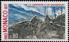 """MONACO N° 1087 """"ALBERT 1er NAVIGATEUR, L'HIRONDELLE DANS UN CYCLONE""""NEUF xxTTB"""