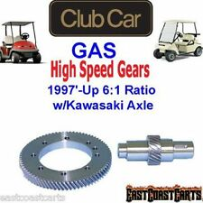 Club Car Gas 1997'-2014' Golf Cart  w/Kawasaki Axle High Speed Gears 6:1 Ratio