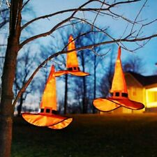 Witch Hats Caps String Lights Outdoor Lights Cosplay Party Halloween Decorations