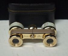 Vintage Bower 3x23 Mother Of Pearl Antique Binoculars Opera Glasses