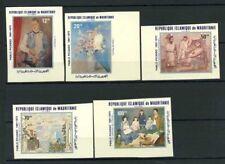 Mauritania 1981 Mi. 721-725 Nuovo ** 100% Non dentellati Pittura Picasso