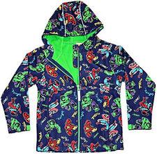 Abbigliamento impermeabile blu per bambini dai 2 ai 16 anni