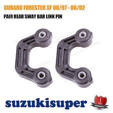 Pair L&R REAR Sway Bar Link Pin fits SUBARU FORESTER SF 08/97 - 06/02