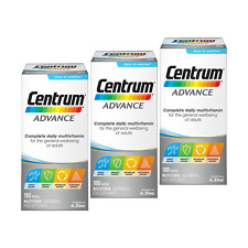 Centrum ADVANCE (100 Tablets) Complete A to Zinc Daily Multi Vitamins for Adults
