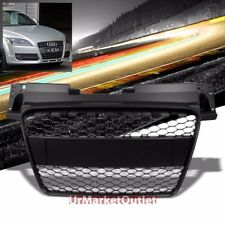 Black Honeycomb Mesh RS Style Front Grille For Audi 06-10 TT MK2 Type-8J DOHC