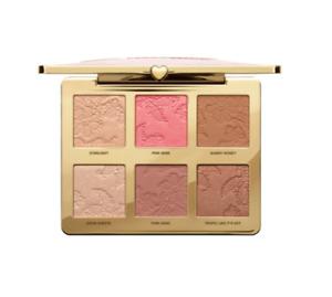 Too Faced Natural Face Highlight Blush Bronzing Veil Face Palette #21