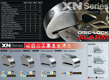 Antifurto Bloccadisco+Allarme Sonoro Moto Scooter XENA XN14 Classe Sra + OMAGGIO