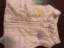 Ropa de bebé nacido Zapp creación Muñeca Bebé Niña Rosa Abrigo Beng