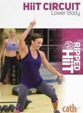CATHE FRIEDRICH RIPPED WITH HIIT HIIT CIRCUIT LOWER BODY DVD NEW SEALED WORKOUT