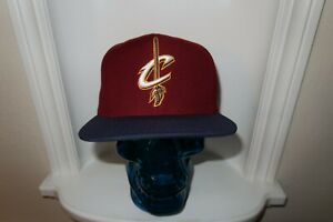Cleveland Cavaliers Cavs NBA Mitchell & Ness Snapback Men Cap Hat NICE SHAPE