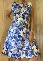 Joe Browns Dress Size 18 Net Underskirt 50s Rockabilly China Blue