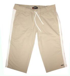 Schneider Sportswear BRISTOL Damen 3/4 Capri Freizeithose Sweathose 42/44 beige