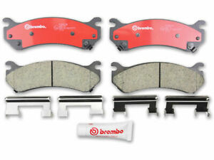 Rear Brake Pad Set 4KMR26 for Hummer H2 2003 2004 2005 2006 2007 2008 2009