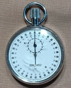 SEIKO 88-5051 Mechanical Stopwatch Manual Winding Analog Vintage Japan