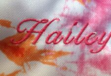 New (Hailey) Pottery Barn Kids Bright Pink & Orange T-dye Lunch Bag Box Tote Pbt