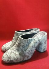 Ethem Mule & Clogs Women Heels Shoes Size 6.5/37 Color Green
