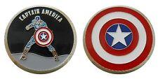 CAPTAIN AMERICA FUN COLLECTIBLE CHALLENGE COIN SUPER HERO COINS NEW