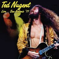 TED NUGENT - LIVE...SAN ANTONIO '77  2 CD NEW+