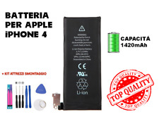 BATTERIA BATTERY APPLE IPHONE 4 CAPACITA' ORIGINALE APN 616-0513 1420 MAH 2020