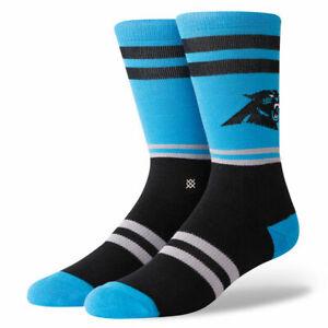Stance NFL Carolina Panthers Logo Socks Size L (9-12)