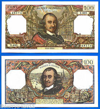 France 100 Francs 1973 4 January Serie Z Corneille Europe Frcs Free Ship World