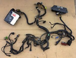JDM TOYOTA 3S GE FF 16V DOHC WIRING HARNESS 4-FLAT WITH ENGINE ECU 89661 32040
