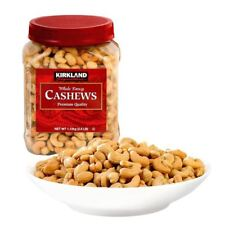 Kirkland Signature Fancy Cashew Nuts Roasted & Salted, Jar 1.13kg